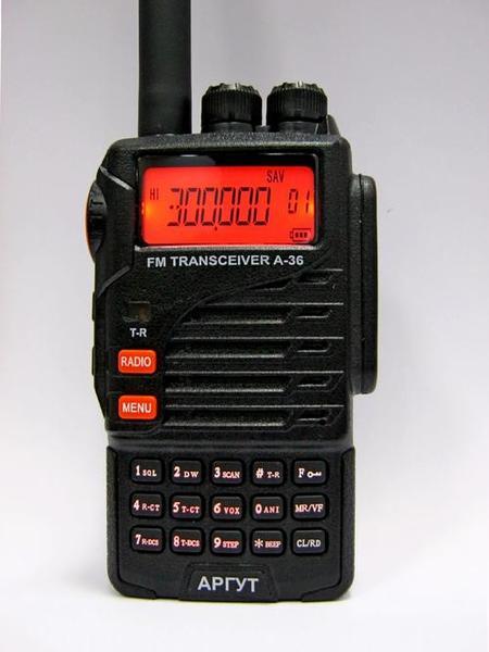 Радиостанция носимая (портативная) Аргут А-36 РЕЧНАЯ